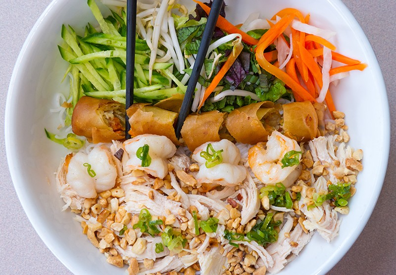 Pho Ca Dao has excellent Bun, a vermicelli salad bowl. - SHANNON CORNMAN
