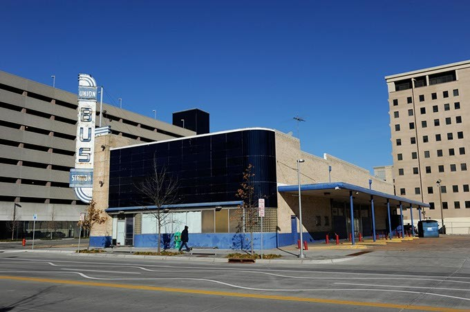 The abandoned Union Bus Station in Oklahoma City, Tuesday, Jan. 13, 2015. - GARETT FISBECK