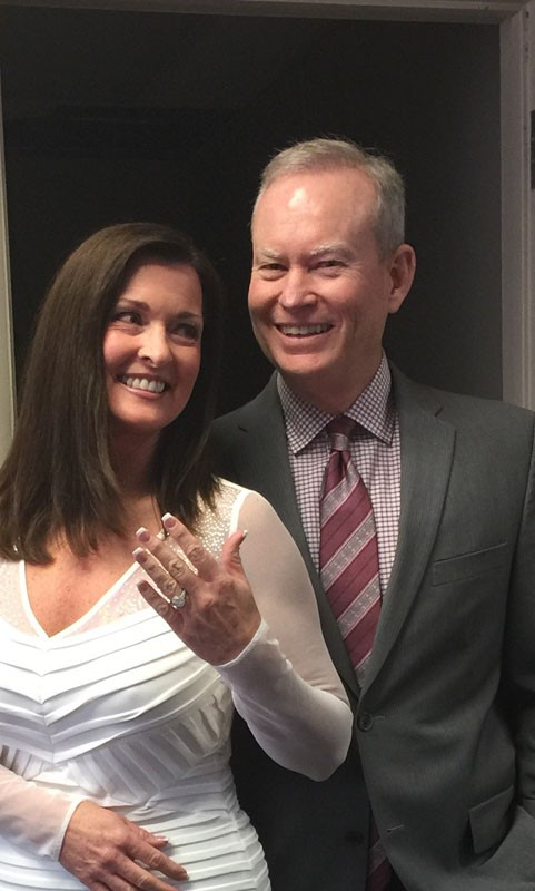 Mayor Mick Cornett, 56, and Terri Walker, 55, were married Nov. 26. - PROVIDED