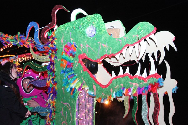 A float entered in last year's Norman Mardi Gras Parade - NORMAN MARDI GRAS PARADE / PROVIDED