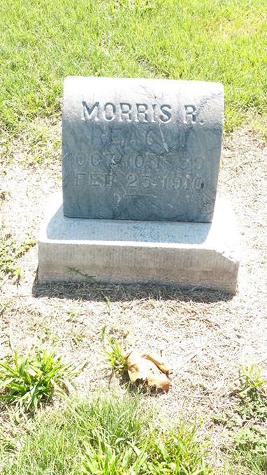 The grave of Officer Morris R. Reagan. (Bobby J. Dobbs / Provided)