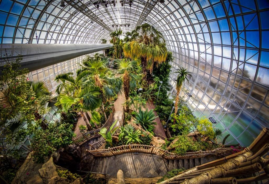 Myriad Botanical Gardens Oklahoma City Parks Amp Gardens