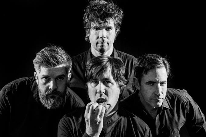 December 20, 2016. Durham, North Carolina. - Promotional photographs of The Mountain Goats for their new album GOTHS - JEREMY M. LANGE