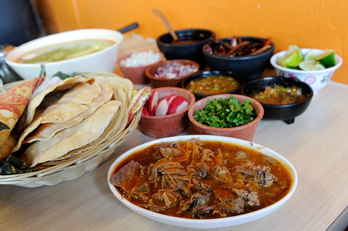 Lam Birria at Birrieria Diaz in Bethany (Garett Fisbeck)