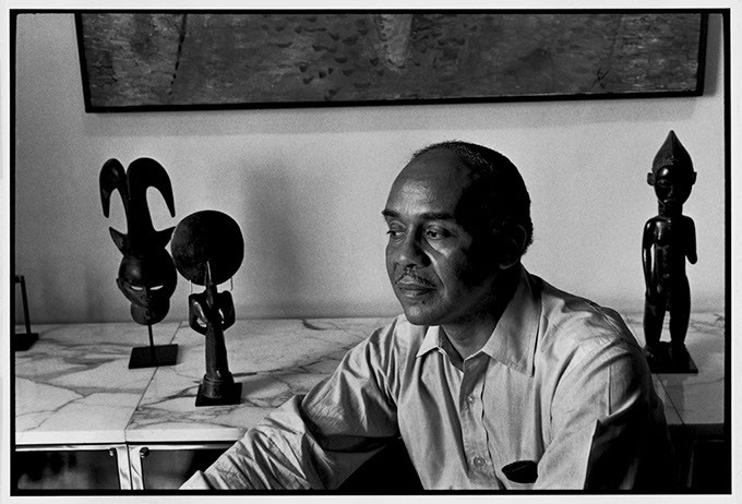 """Ralph Ellison (New York City)"" by Nancy Crampton (Image Fred Jones Jr. Museum of Art / provided)"
