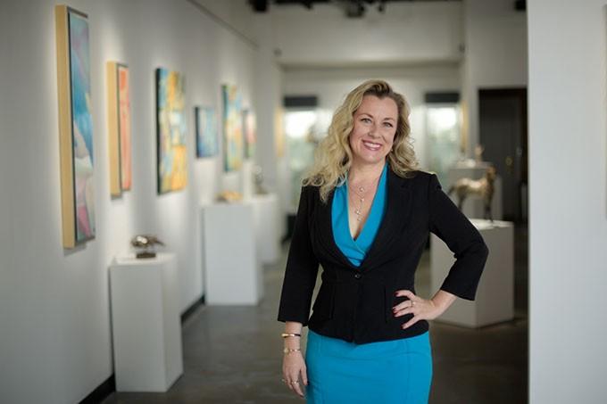 Women Lead executive director Kendra Horn (Garett Fisbeck)