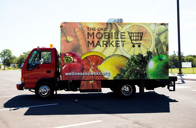 Oklahoma City County Health Department's Mobile Market, which is expected to come online in Spring 2017 — Photos provided
