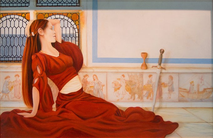 """""""Lady in Red"""" by Michael Pearce - MICHAEL PEARCE / OKLAHOMA CITY UNIVERSITY / PROVIDED"""