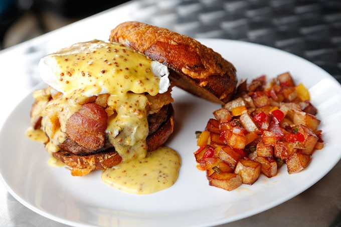 Breakfast Burger at The Pump Bar (Garett Fisbeck / file)