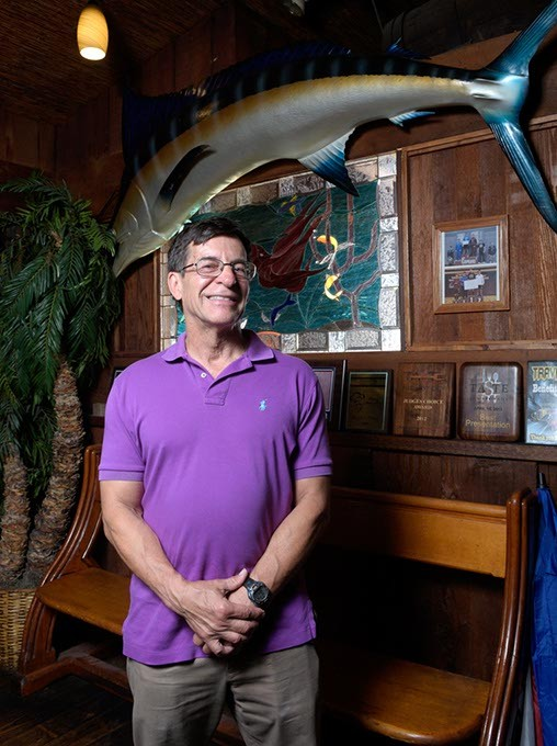 Jim Dolezel poses for a photo at Pelican's in Midwest City, Tuesday, July 18, 2017. - GARETT FISBECK