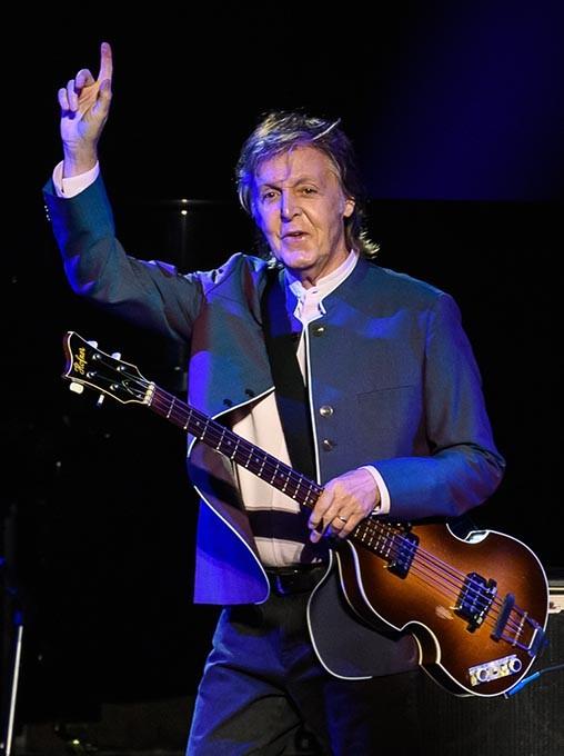 Paul McCartney performs at the Chesapeake Energy Arena, Monday, July 17, 2017. - ROB FERGUSON