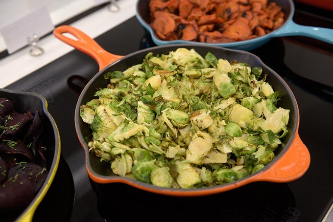 Roasted brussel sprouts at Provision Kitchen, Wednesday, Jan. 11, 2017. - GARETT FISBECK