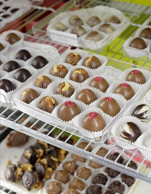 Chocolate at 42nd St. Candy, Wednesday, Jan. 18, 2017. - GARETT FISBECK