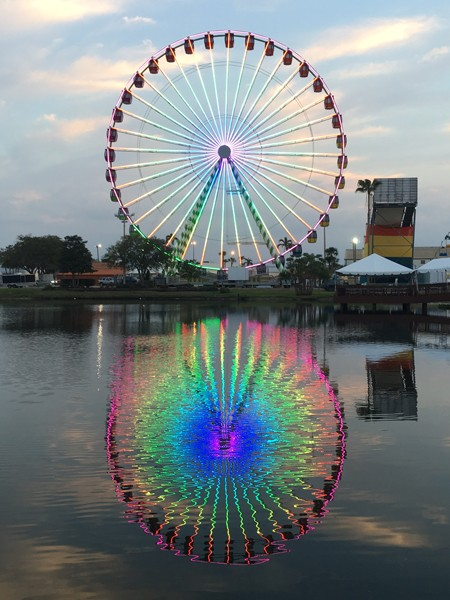 Sky Eye Wheel is one of this year's new attractions at Oklahoma State Fair. - OKLAHOMA STATE FAIR / PROVIDED