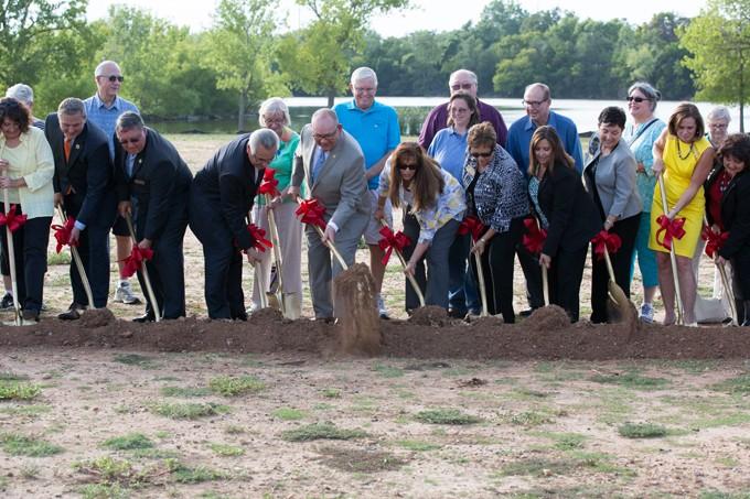 Oklahoma City Senior Center and Community Center Groundbreaking Ceremony held at 4001 N.W. 39th Expressway, Oklahoma City
