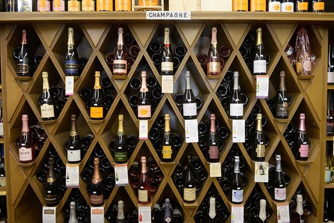 Freeman's Liquor Mart is expanding its selection of Champagne and other sparkling wines in advance of Valentine's Day. (Garett Fisbeck)