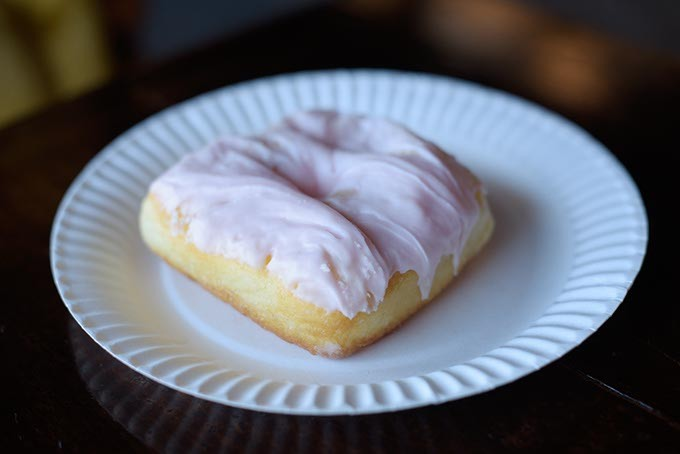 Strawberry Milkshake Donut at Belle Kitchen, Friday, Jan. 27, 2017. - GARETT FISBECK