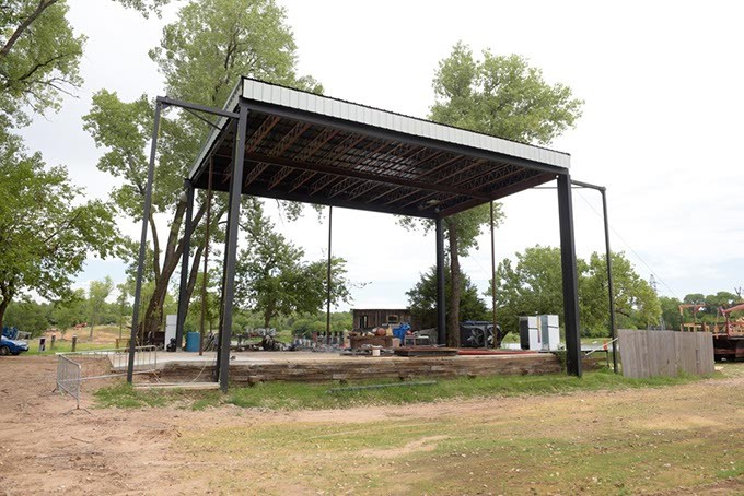 Ampitheatre at Lost Lakes Amphitheater and Water Park in Oklahoma City, Thursday, Aug. 4, 2016. - GARETT FISBECK