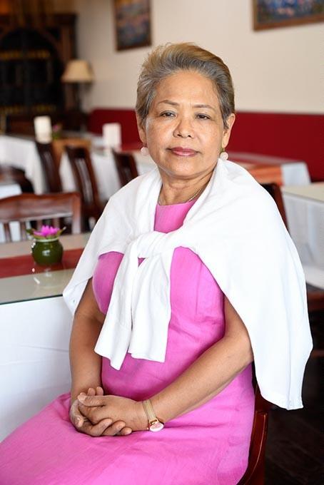 Lawan Rattana poses for a photo at Gin Thai Fusion in Edmond, Monday, May 16, 2016. - GARETT FISBECK