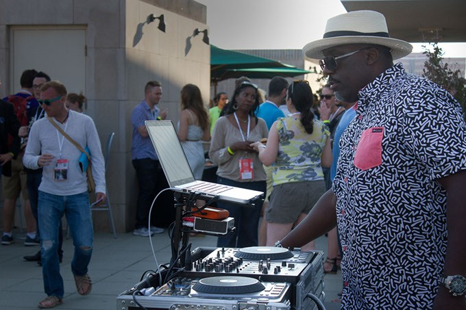 Deadcenter Film Festival, Opening Night Party, Oklahoma City Museum of Art rooftop, Oklahoma City, June 9, 2016. - ERICK PERRY