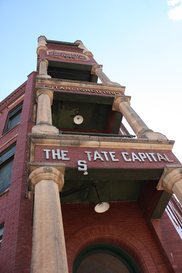 A recent vote by the Guthrie City Council denied a St. Louis developer's proposal to convert the State Capital Publishing building into senior apartments. | Photo Laura Eastes