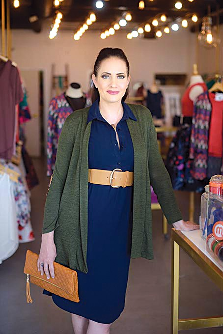 Rachael Gruntmeir said the holiday shopping season always drives up sales numbers for Midtown's The Black Scintilla. (Gazette / file)