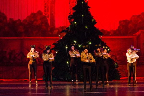 RACE Dance Company, as seen in last year's Christmas performance, hits the stage Friday for Murder on the Dance Floor. | Photo Britt's Eye View / provided