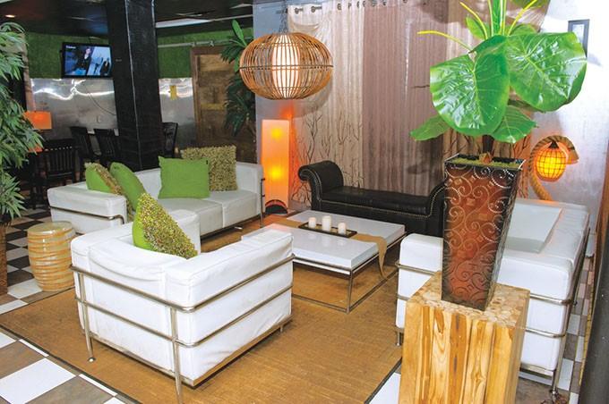 The interior of La Brasa looks more like a club than a restaurant. | Photo Gazette / file