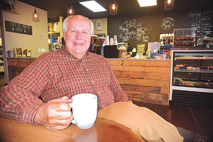 After founding two successful companies in the oil industry, Ken Murphy opened nonprofit Higher Grounds Coffee Shoppe & Bakery in 2014. | Photo Jacob Threadgill