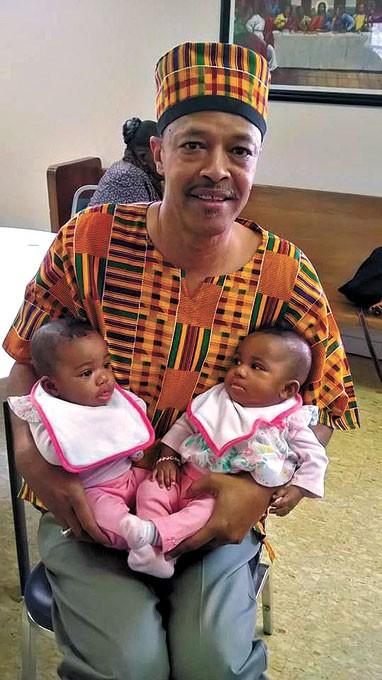 Michael Washington has been celebrating Kwanzaa since 1977.   Photo provided