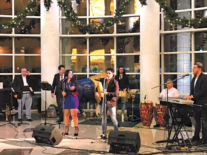 The band Orquestra D'Calle has performed at a previous Opening Night. This year, guests will have a wide variety of musical, comedy and performance entertainment to keep them occupied before the ball-raising ceremony at midnight. | Photo Arts Council Oklahoma City / provided