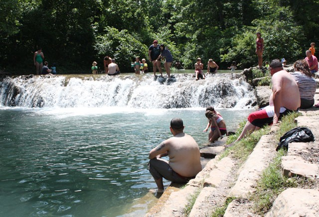 According to National Park Service, Chickasaw National Recreation Area requires about $19.7 million in maintenance. (Photo Laura Eastes)
