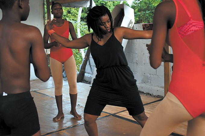 Marie Casimir returns to her native Haiti about once a year, often working with local artists and teaching dance classes while she is there. | Photo Sephora Monteau / provided