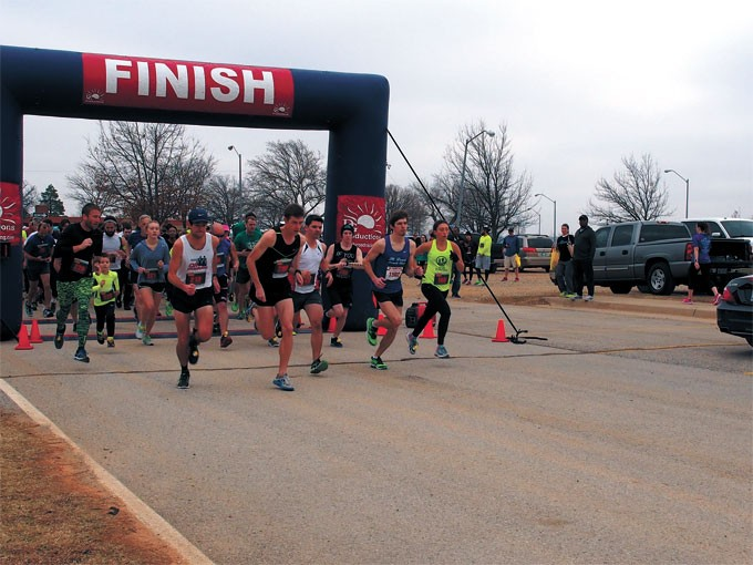 About 300 runners participated in 2017's Run for Recovery 5K and 10K runs. | Photo provided