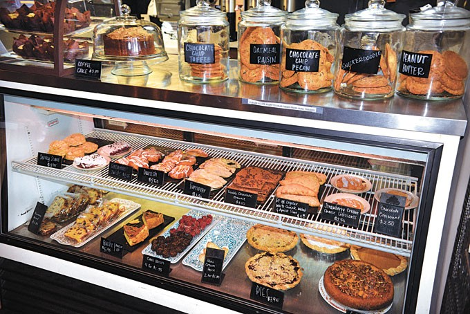 Baker Dawn Kellogg oversees a variety of sweet treats at Higher Grounds.   Photo Jacob Threadgill