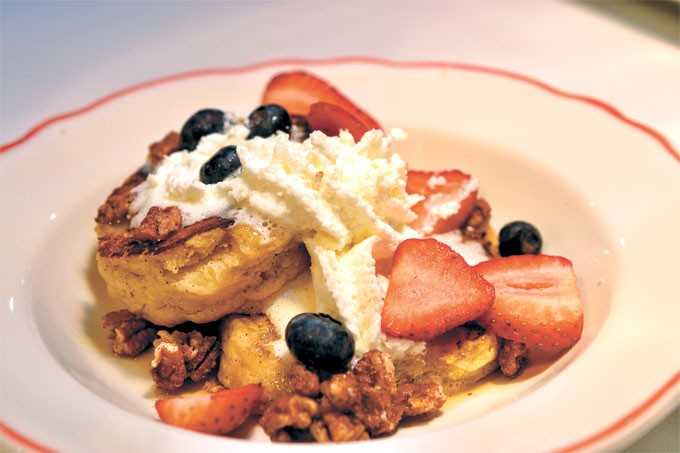 Biscuit French toast at HunnyBunny Biscuit Co. | Photo Aaron Snow / provided