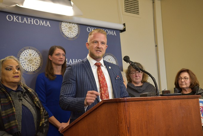 Freshman lawmaker Rep. Collin Walke is pushing a series of bills this session intended to look out for working Oklahomans, based on the values of the Democratic Party. | Photo Laura Eastes