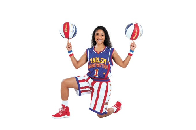 Ace Jackson has been a member of the Harlem Globetrotters for the last three seasons. | Photo The Harlem Globetrotters / provided