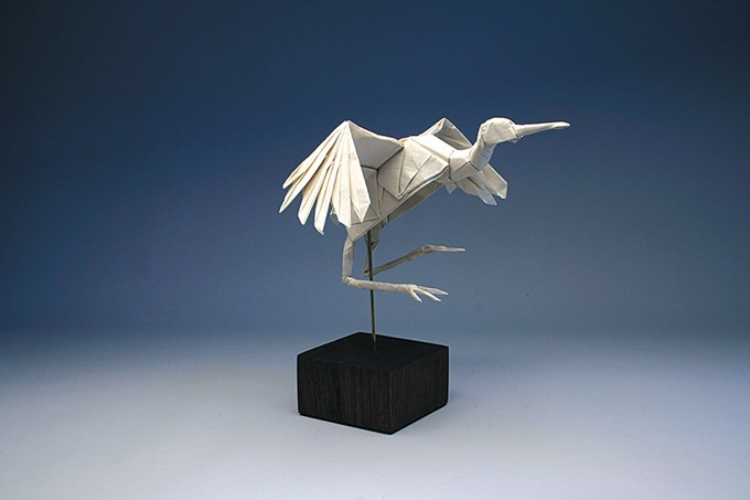 Dancing Crane by Robert J. Lang - SCIENCE MUSEUM OKLAHOMA / PROVIDED