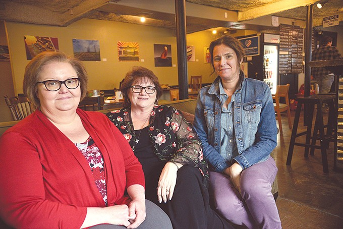 RoseAnn Duplan, Wanda Felty and Erin Taylor serve as parent advocates for Waiting List Caucus, coordinated by Reps. Jon Echols and Cyndi Munson. - LAURA EASTES
