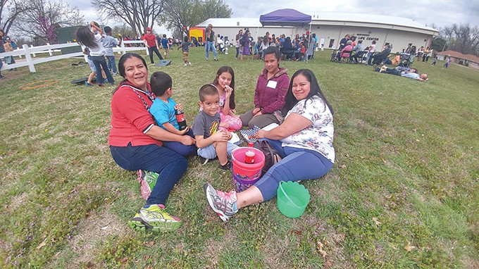 Locals gathered for  Windsor Games – Easter Edition, an event by The Windsor District on March 30. - PROVIDED