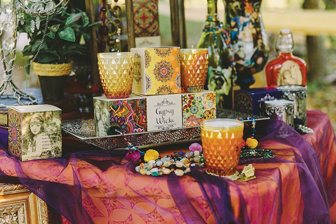 Gypsy Wicks candles retail for $24-$26 with a reusable container and a 60-hour burn life. - PROVIDED