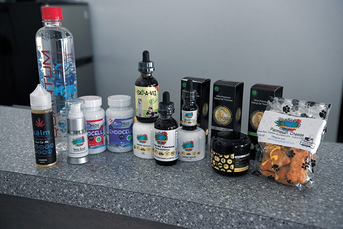Herban Mother carries many different CBD-infused products in liquid, topical, vapor, edible and other forms. - BEN LUSCHEN