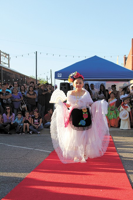 Friday's event in Calle Dos Cinco features a salsa tasting competition, a traditional Mexican dress show, food trucks and vendors. - CALLE DOS CINCO / PROVIDED