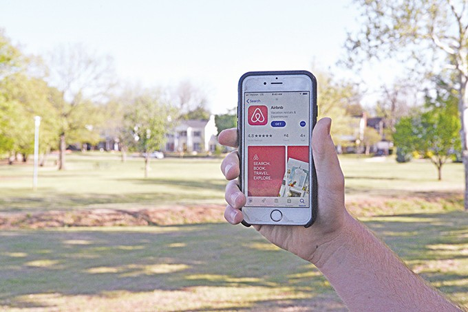 Airbnb, an app that allows homeowners and renters to rent out rooms of their homes or their whole home for short-term visitors, is popular in Oklahoma City with more than 300 listings. - LAURA EASTES