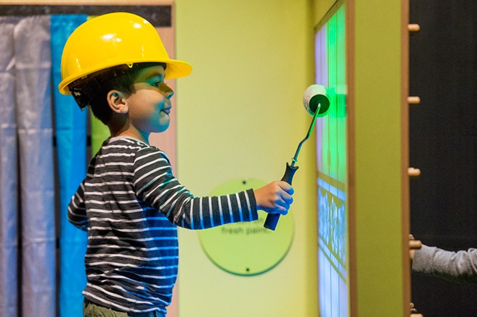 Building Buddies is open in the Oklahoma Museum Network gallery at Science Museum Oklahoma through September. - PROVIDED