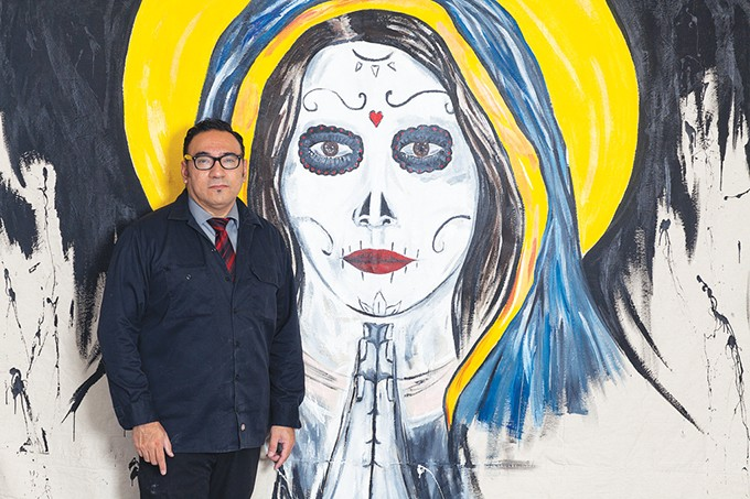 Narciso Argüelles has spent the past 10 years fighting for racial and cultural inclusion in Oklahoma's art scene. - PROVIDED