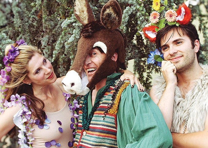 Oklahoma Shakespeare in the Park opens its 2018 season with A Midsummer Night's Dream. - OKLAHOMA SHAKESPEARE IN THE PARK / PROVIDED