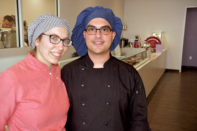 Ganache Patisserie owners Laura Szyld and Matt Ruggi trained in European kitchens in Argentina and France before moving to Oklahoma. - JACOB THREADGILL