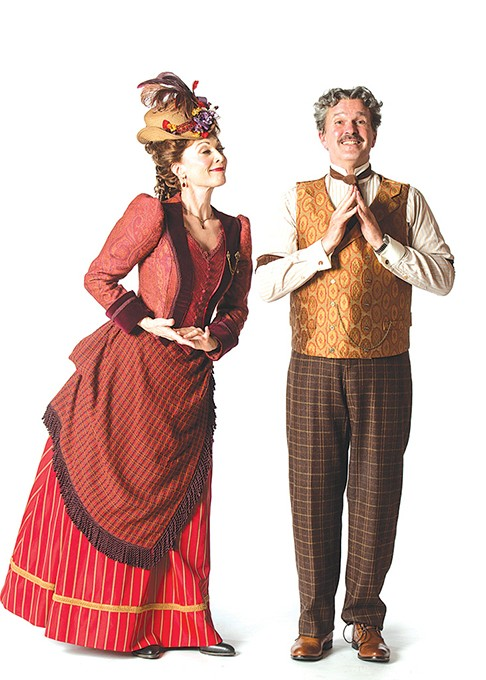 left to right Dee Hoty and George Dvorsky star in Lyric Theatre of Oklahoma's production of Hello, Dolly! - K.O. RINEARSON / PROVIDED